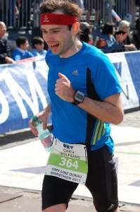 Linz Marathon 2011 Zieleinlauf